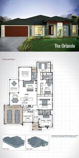 modern floor plan double story modern house plans home design
