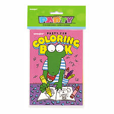 coloring book party favors 8 count walmart com