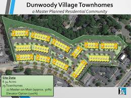 new townhouse development proposed at dunwoody village reporter