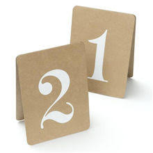 Buffet Sign Holders by Table Numbers Place Cards Holders