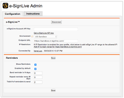 customizing esignlive for salesforce