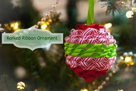 korked ribbon ornament sew mccool