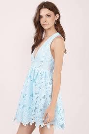 cheap light blue skater dress sleeveless dress skater dress
