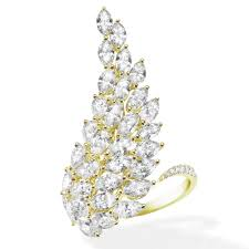 messika yellow gold angel simple ring jewellery from frost of