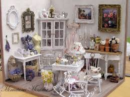 Shabby Chic Dollhouse by 633 Best Fantásticas Dollhouses Images On Pinterest Dollhouses
