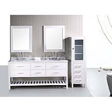 Shaker Style Bathroom Vanity by Design Element London Shaker Style Double Sink Bathroom Vanity