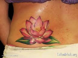 flower tattoo ring lotus flower tatto only much smaller and only where i could see it