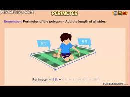 perimeter animated math lesson for grade 3 youtube