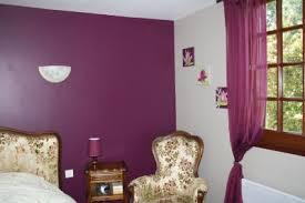 chambre aubergine et gris mur en satinelle aubergine et gris de suède la rénovation de