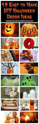 the best diy halloween decorations 40 easy to make diy