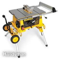 Woodworking Magazine Table Saw Reviews by Portable Table Saw Reviews U2014 The Family Handyman