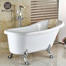 bathtub faucet set creative floor mount single handle bathroom bathtub faucet set