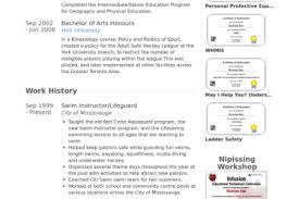 Lifeguard Resume Sample by Swim Instructor Resume Examples Reentrycorps