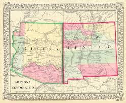 Tucson Arizona Map by File Arizona And New Mexico Territories Map 1867 Jpg Wikimedia