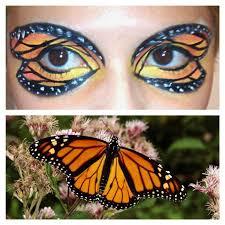 monarch butterfly eyeshadow by klrainbow on deviantart