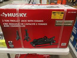 home depot scales black friday home depot homedepot huskey 2 ton trolley jack with stands 20 00