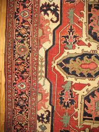 antique persian heriz serapi rug