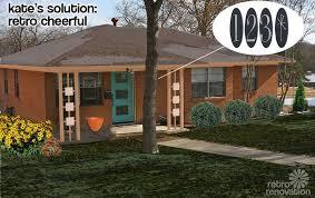 retro design dilemma paint colors for laurie u0027s 1966 brick ranch