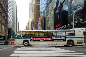 varick street litho attention grabbing bus wrap large format