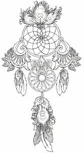 ingenious dream catcher coloring pages native american