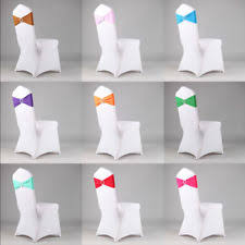 spandex chair sash 100 chair sashes venue decorations ebay