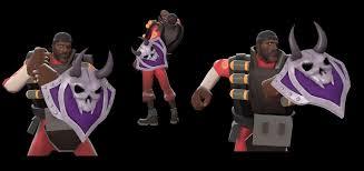 Team Fortress 2 Halloween Costumes Vanguard Team Fortress 2 U003e Skins U003e Demoman U003e Chargin U0027 Targe