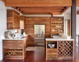 cuisine interiors modern ski chalet with beautiful rustic interiors