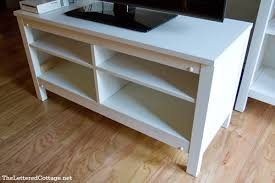 hemnes tv bench hemnes tv stand redo true value diy blog squad the lettered