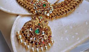 antique jewelry necklace images Indian antique jewelry types designs styles jpg