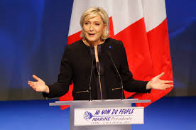 Marine Le Pen Le Pen Vows U0027france First U0027 At Campaign Launch Hits Globalization