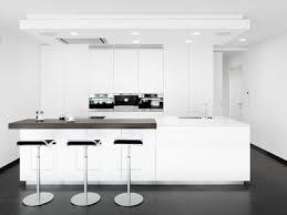 recessed lighting white countertop black wood bar stools pendant