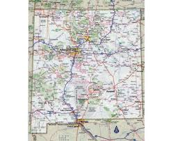 Highway Map Usa by Maps Of New Mexico State Collection Of Detailed Maps Of New
