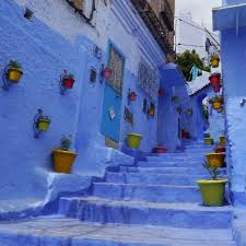 blue city morocco morocco guest post a blue city against a blue sky travel eater