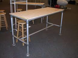 pipe table legs kit rugged steel table frame kit simplified building