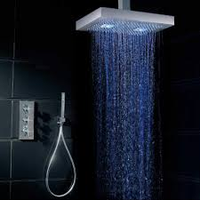 Bathroom Shower Head Ideas by Decoration Ideas Remarkable White Square Fixed Shower Head In