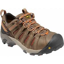 womens boots keen keen 1007970 flint low waterproof steel toe work shoes 1007970