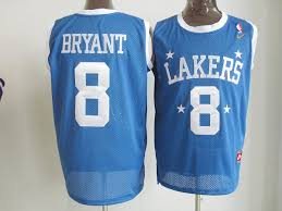 cheap basketball jersey los angeles lakers 8 bryant blue wholesale