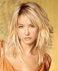 putting layers in shoulder length hair love the short layers in the back and the graduation of length to