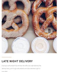 pretzel delivery monday matters i really think we are a these two