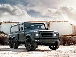 kahn land rover defender 110 kahn design представили шестиколесный land rover defender колеса ру