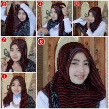 tutorial hijab paris zaskia tutorial hijab ala zaskia sungkar 1 hijab tutorial ala zaskia