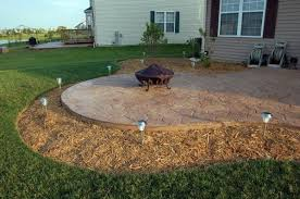 Backyard Stamped Concrete Ideas Ucs Inc Photo Gallery