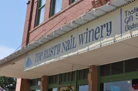 rusty nail winery and tasting room chickasaw country
