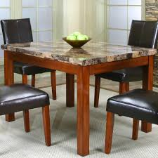 contemporary dinner table w faux marble table by cramco inc