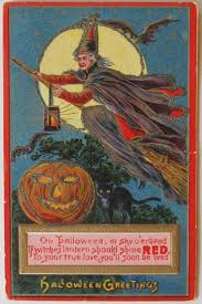 the 41 best images about halloween postcards finding true love on