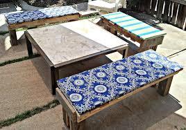 Patio Bench Cushion by Outdoor Patio Bench Cushions U2014 Jen U0026 Joes Design Best Outdoor