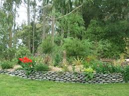 Rock Borders For Gardens Garden Rock Border