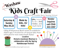 waxhaw kids craft fair