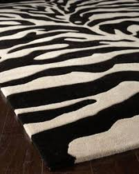 Zebra Area Rugs Safari Contemporary Zebra Print With Faux Silk Highlights Grey Rug