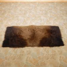 Bison Hide Rug American Buffalo Bison Rug For Sale 14727 The Taxidermy Store